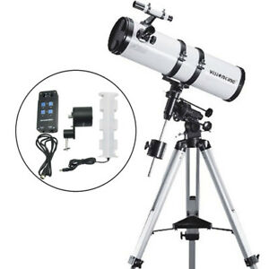 Visionking 150 EQ 1400mm Reflector Newtonian Astronomical Telescope   motor 6''