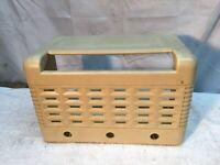 Vintage CLARION  Radio Case Only Parts Repair Tube Radio Case Wireless Speaker
