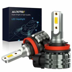 2X H11 LED Fog light H8 H9 H16JP Kit 4000LM Driving Bulb High Power 3000K Amber