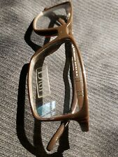 CHRISTIAN DIOR BLACK TIE 41 86L EYEGLASSES 53/13/135 BROWN MADE IN ITALY