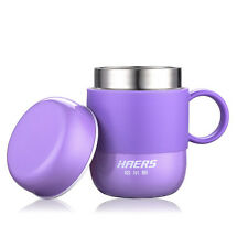 HAERS 280ML Candy Color Coffee mug Thermos Travel Steel Tea Outdoor cup