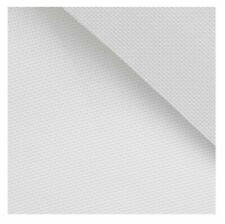 Toile Aïda 5.5 qualité blanc 45 x 40 cm 100% coton peigné broderie mercerie