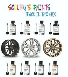 ALLOY WHEEL REPAIR touch up PAINT KIT CURBING SCRATCH CHIP Silver Black Gold