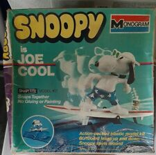 Extremely Rare Monogram No. 7502 SNOOPY is JOE COOL 1973 (Started, incomplete)