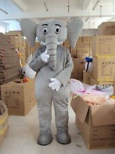 Elephant Animal Mascot Costume High Quality Fancy Dres Custom Made Halloween hot