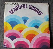 Daniel Boone, beautiful sunday / truly Julie, SP - 45 tours