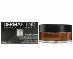 Dermablend Cover Creme Full Coverage Foundation SPF30 Chocolate Brown 80W 1oz