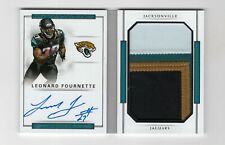 2017 Panini National Treasures Leonard Fournette RC Booklet Auto Patch #41/99