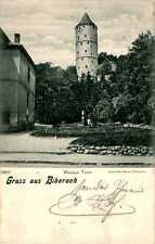 Ansichtskarten vor 1914 aus Baden-Württemberg mit dem Thema Turm & Wasserturm