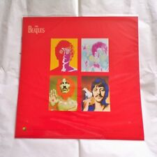 """The Beatles 1 Double Sided Promo Display Flat 12"""" x 12"""""""