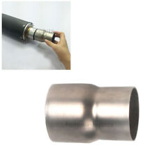 "60mm / 2.36"" to 51mm / 2"" Motorcycle Exhaust Pipe Reducer Connector Adapter"