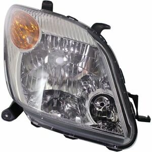 2006 SCION XA HEADLIGHT HEADLAMP LIGHT LAMP RIGHT PASSENGER SIDE RH
