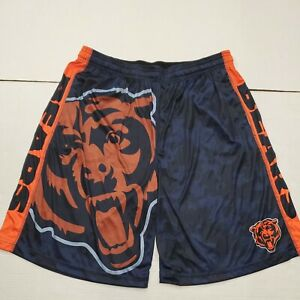 NWOT Chicago Bears NFL Men's Klew Orange Athletic Shorts 2XL New Without Tags