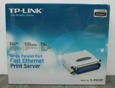 TP-LINK TL-PS110P LPT Parallelport Fast Ethernet Printserver Brand new sealed