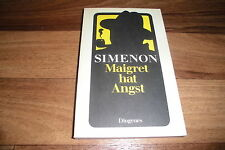 GEORGES SIMENON -- KOMMISSAR MAIGRET hat ANGST // Diogenes 1983