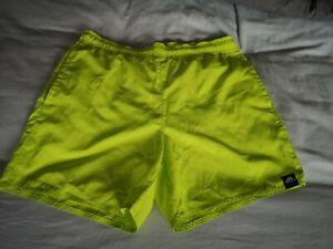 Adidas - Fluorescent Yellow Swim Shorts - UK Size Small