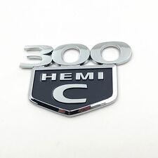 NEW 300C HEMI Badge Nameplate Emblem Fender Sticker Decal For Chrysler 300