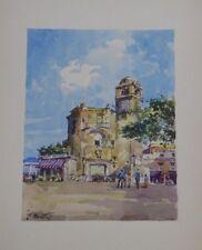Romanesque Seaside Italian Bell Tower by Carlo Montesi