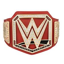 New Wwe red universal championship title wrestling belt 2017 design roman reigns