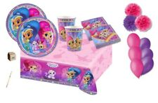 KIT COMPLEANNO N.49 SHIMMER & SHINE FLUFFY PARTY PALLONCINI FESTA ODALISCHE