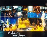 ALAN SWADEN as a Stormtrooper - Star Wars GENUINE AUTOGRAPH UACC (Ref:5461)