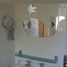 Whale & Spurt Acrylic Mirror (Several Sizes Available)