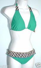 CECILIA PRADO d u e Women Size S Halter Triangle Top Bikini Set NWT $120