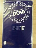 WALKING DEAD 167 NM [15 YEAR ANNIVERSARY BLACK POLYBAGG SEALED] PA11-350