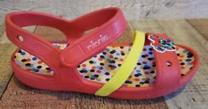 Girls Size 13 Crocs Minnie Mouse Sandals Shoes