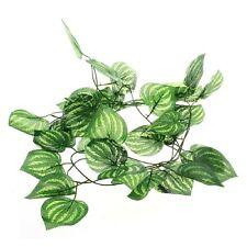 Hot Leaves Plastic Reptile Artificial Fruit Plants Vines Landscaping Ornament