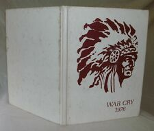 War Cry 1976 Southwest Junior High School Yearbook - Lakeland, Florida
