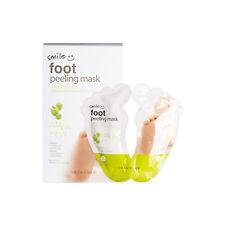 [THE FACE SHOP] Smile Foot Peeling Mask - 1Pack (2pcs) (New)