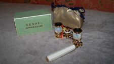 Selsi Opera Glasses 2.5x Coated - Brass and Mother of Pearl - EC