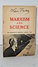 Marxism and Science: The Mendeleyev Memorial Address 1925