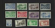 Andorra Fr. sc#99,103-4,107,109-10,112-14,116-17,120 (1944-9) MH