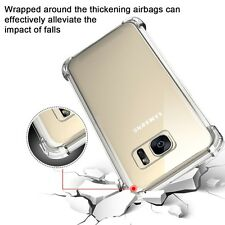 Funda Gel TPU Proteción Esquinas Transparente para Samsung Galaxy S7 Edge G935
