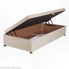 Velvet Medium Firm Divan Beds with Mattresses