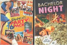 PARTY PACK Bachelor Night-Party Vegas-Bottoms-Fired Up-Pucked-Wieners-NEW DVD