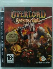 Overlord Raising Hell. Ps3. Fisico. UK Castellano
