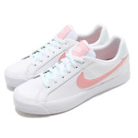 Nike Wmns Court Royale AC White Bleached Coral Women Casual Shoes AO2810-107