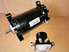 NEW PREMIUM STARTER & SOLENOID for EVENRUDE  E75FP 2001-03  75 HP FICHT