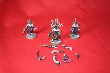 Warhammer 40K Dark Eldar Wracks painted   Magnetized Lot G