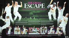 THE GREAT ESCAPE 'AUSTRALIA vs PAKISTAN' ~ LIMITED EDITION CRICKET PRINT'