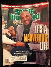 Marvelous Hagler 1990 Sports Illustrated - MINT
