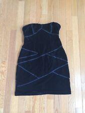 Urban Outfitters Silence + Noise Black Velvet Bodycon Dress Size Small