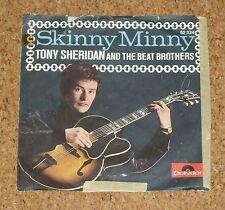 Single 7 Tony Sheridan and the Beat Brothers Beatles Skinny Minny Polydor 52324