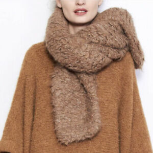 Lauren Manoogian Carpet Stitch Collar Scarf Mushroom NWT $390