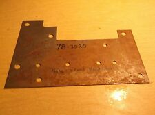 NEW Lawn Equpiment Part Toro 78-3020 Front Hood Plate *FREE SHIPPING*