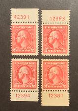 TDStamps: US Stamps Scott#528B (4) Mint NH OG 4 P#Singles