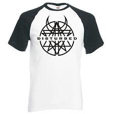 """Logotipo de banda perturbado"""""""", Unisex Béisbol de Raglán Camiseta"""